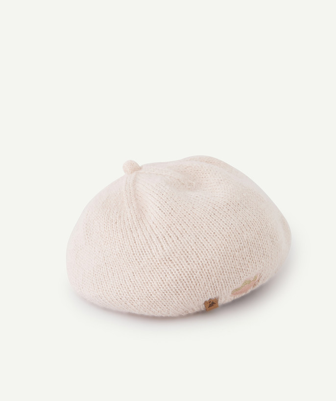 Outlet radius - PINK KNITTED BERET