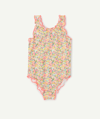 ECODESIGN radius - ONE-PIECE FLOWER-PATTERNED SWIMSUIT IN RECYCLED FIBRES