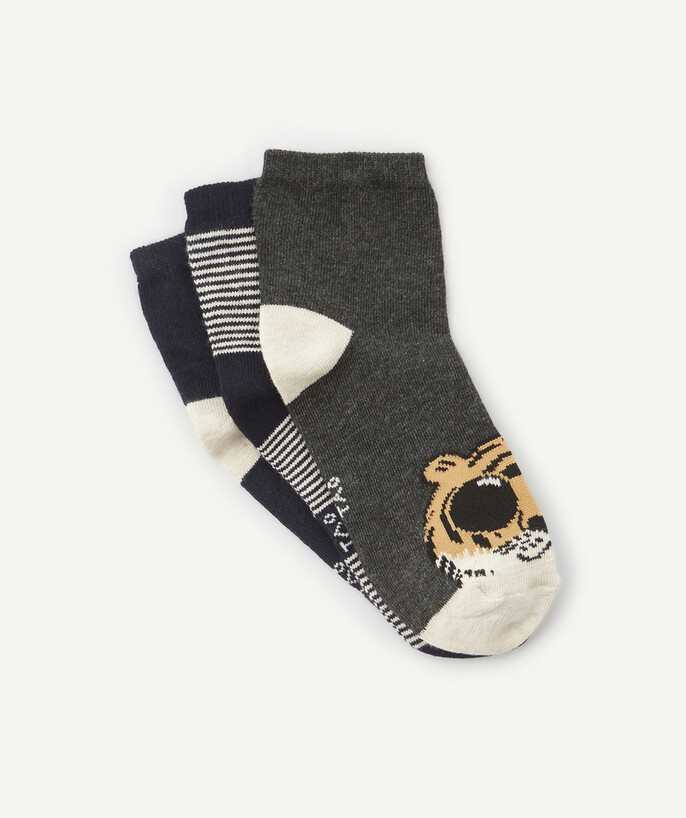 Basics radius - THREE PAIRS OF BIG CAT SOCKS