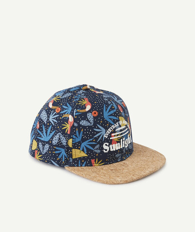 All collection radius - TROPICAL AND CORK EFFECT CAP
