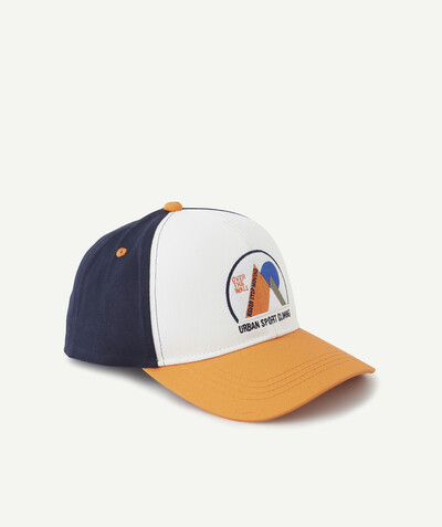Sportswear radius - TRICOLOURED FLOCKED CAP