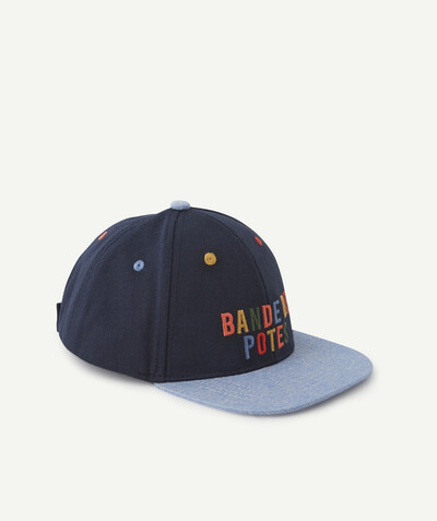 All collection radius - BLUE CAP WITH A COLOURED MESSAGE