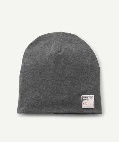 Sportswear radius - GREY HAT IN LINED COTTON
