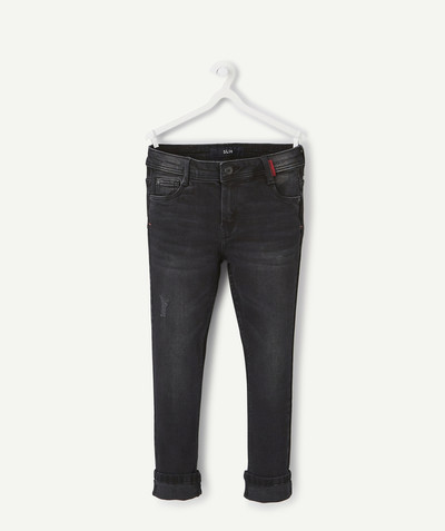 Trousers size + radius - SIZE+ SLIM BLACK JEANS