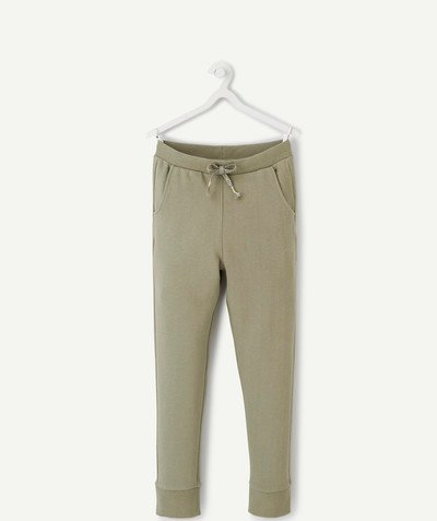 ECODESIGN radius - KHAKI JOGGING PANTS