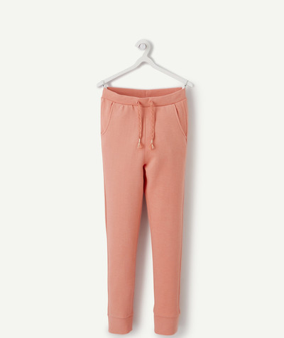ECODESIGN radius - SALMON PINK JOGGING PANTS