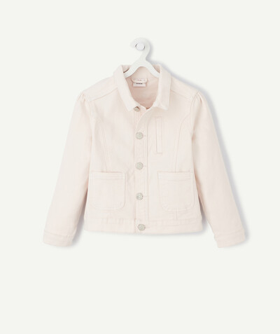 Spring looks ideas radius - PALE PINK WOVEN COTTON JACKET