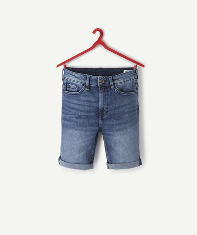 Basics Sub radius in - BERMUDA SHORTS IN STRETCH DENIM