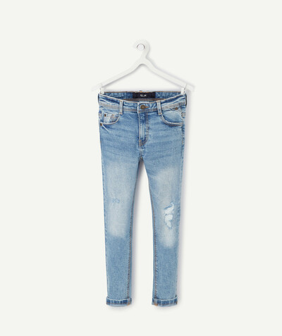 Nouvelle collection Rayon - LE JEAN SLIM TROUÉ AVEC PATCH