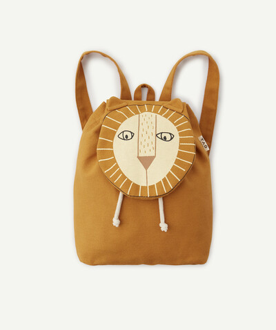 Collection plage Rayon - LE SAC À DOS SOUPLE CAMEL LION