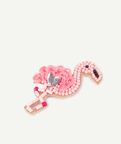 Toute la collection Rayon - LA BROCHE ROSE EN FORME DE FLAMANT ROSE