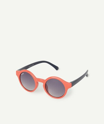 All collection radius - ROUND TWO-TONE SUNGLASSES