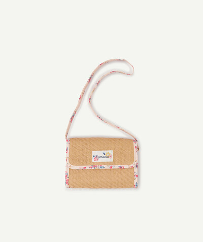 Special occasions' accessories radius - STRAW CLUTCH BAG