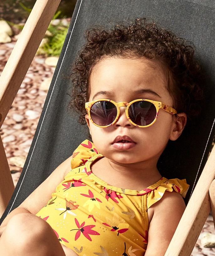 Accessories radius - YELLOW OVAL-SHAPED SUNGLASSES