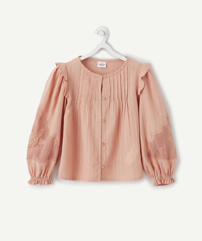 Shirt - Blouse radius - POWDER PINK BLOUSE