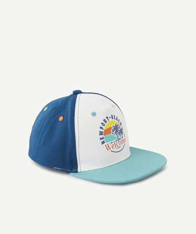 All collection radius - BLUE TRICOLOURED CAP