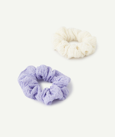 All collection Sub radius in - TWO HAIR SCRUNCHIES IN COTTON GAUZE