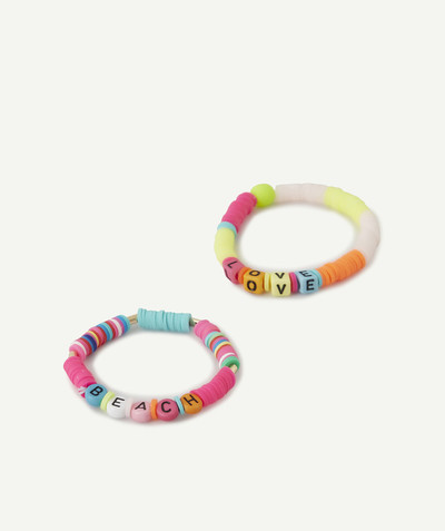 Nouvelle collection Rayon - LES 2 BRACELETS EN SILICONE COLORÉ