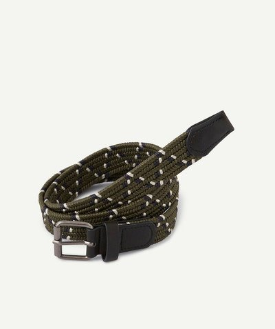 All collection Sub radius in - PLAITED KHAKI BELT