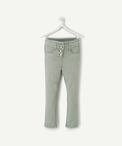 Pantalon - jogging Rayon - LE PANTACOURT SUPER SKINNY VERT EN TOILE DENIM