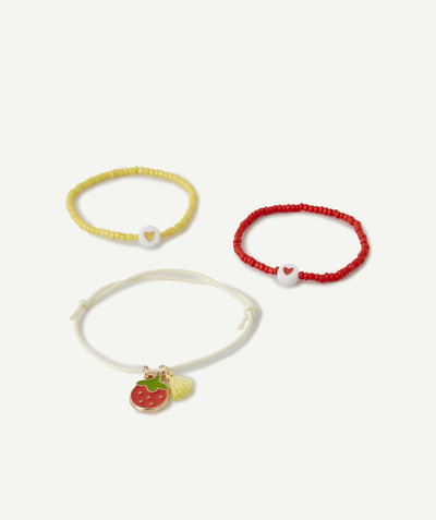 Nouvelle collection Rayon - LES 3 BRACELETS FINS EN PERLES