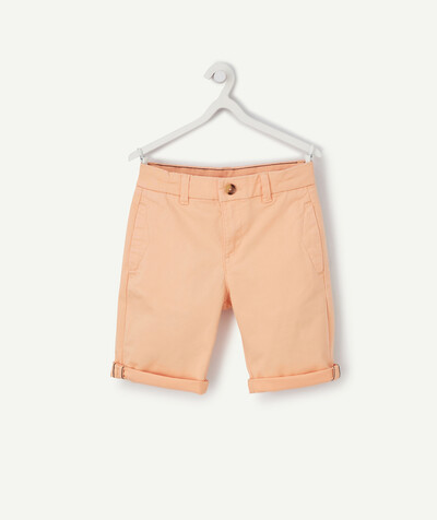 Nouvelle collection Rayon - LE BERMUDA CHINO ORANGE