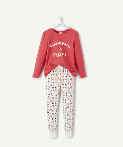 Nightwear radius - RASPBERRY PYJAMAS IN ORGANIC COTTON