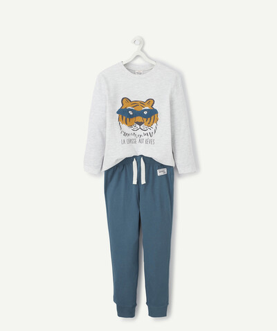 Collection ECODESIGN Rayon - LE PYJAMA SUPER TIGRE EN COTON BIOLOGIQUE