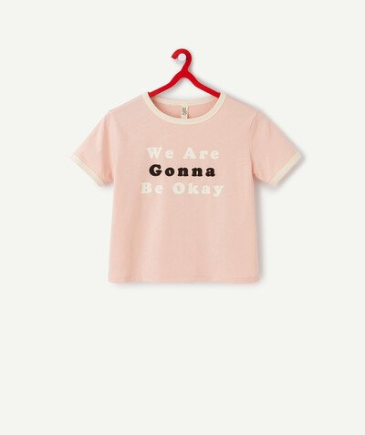 ECODESIGN radius - PINK T-SHIRT IN ORGANIC COTTON