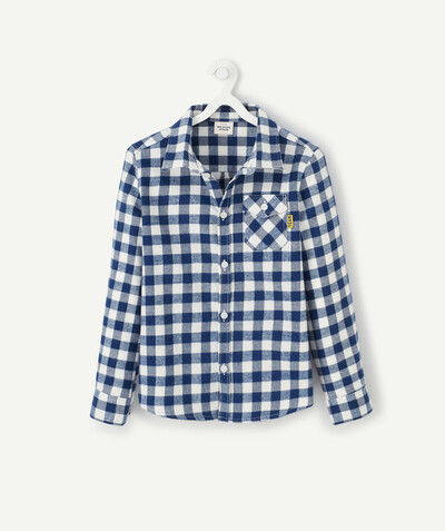 Shirt - Polo radius - CHECKED FLANNEL SHIRT
