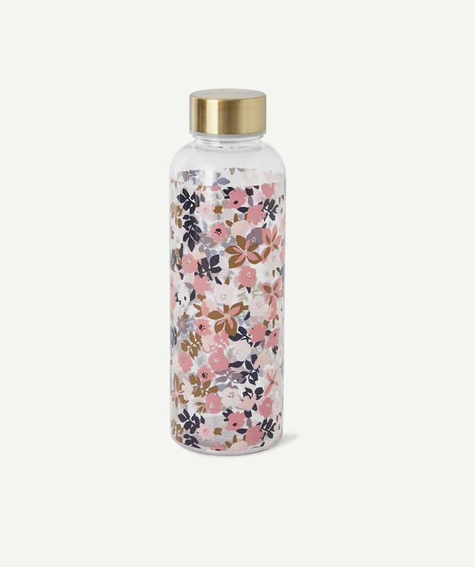Sportswear radius - TRANSPARENT BOTTLE WITH A FLOWER PRINT