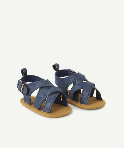 All collection radius - BLUE SANDAL-STYLE SHOES