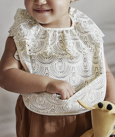 All accessories radius - ELODIE DETAILS® - WAXED BIB WITH A COLLAR 6 MONTHS+