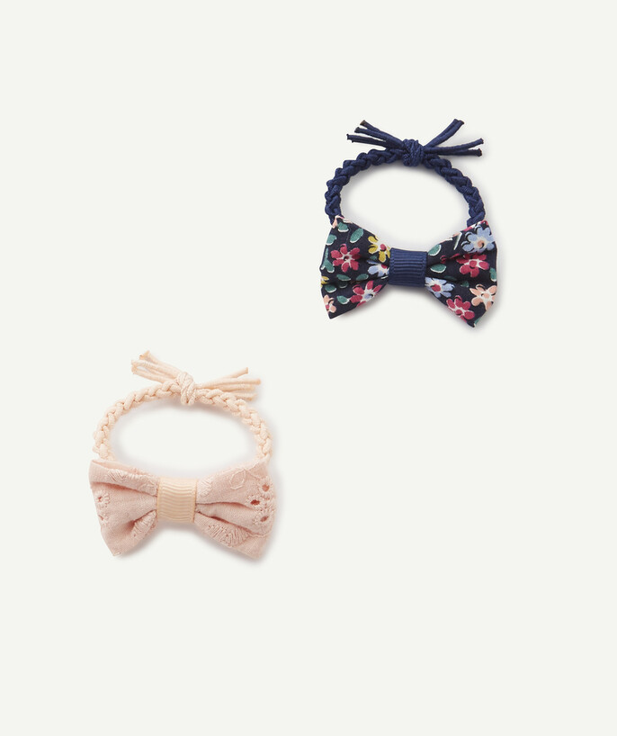 Accessories radius - SET OF TWO HAIR ELASTICS WITH BOWS