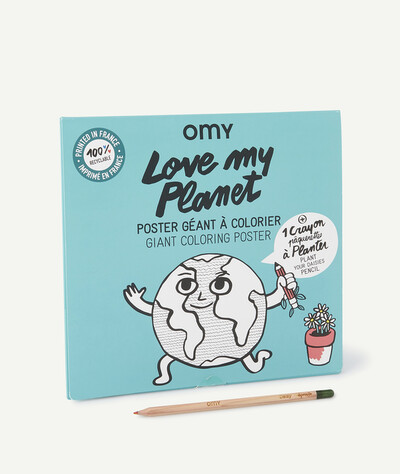All Collection radius - OMY� - XXL POSTER WITH A PENCIL TO PLANT
