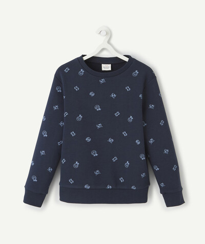 Sweat Rayon - LE SWEAT BLEU MARINE EN COTON BIOLOGIQUE
