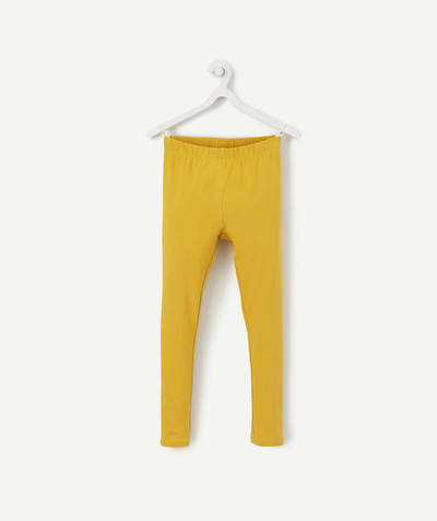 Basics radius - MUSTARD-COLOURED LEGGINGS