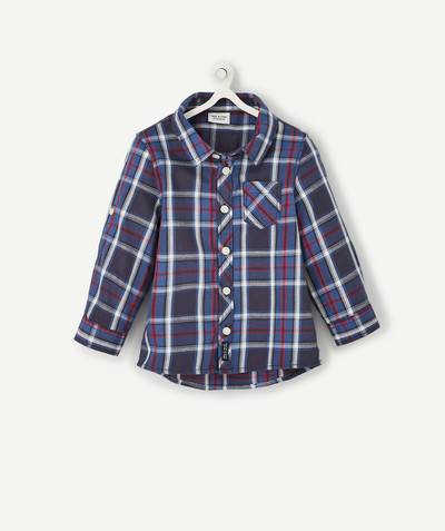 All collection radius - CHECKED COTTON SHIRT