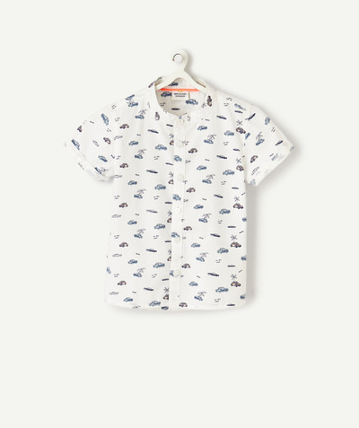 All collection radius - SHORT-SLEEVED PRINTED SHIRT