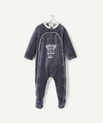 All collection radius - LOVELY SOFT GREY SLEEP SUIT