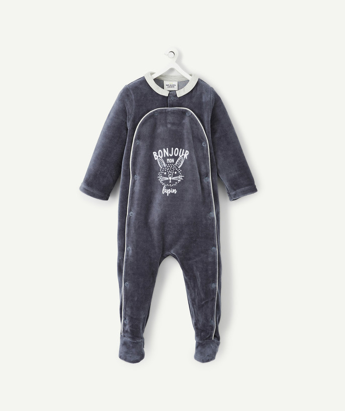 Essentials : 50% off 2nd item* family - LOVELY SOFT GREY SLEEP SUIT