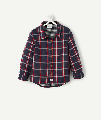 All collection radius - REVERSIBLE GINGHAM SHIRT