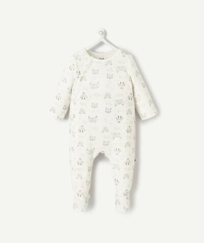 My first wardrobe radius - VELVET SLEEPSUIT IN ORGANIC COTTON