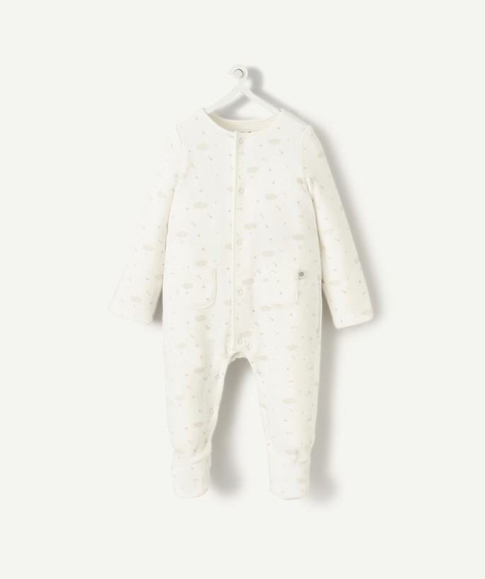 Sleepsuit - Pyjamas radius - PREMATURE BABY SLEEP SUIT IN ORGANIC COTTON