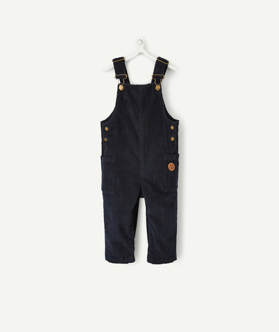 All collection radius - BLACK VELVET DUNGAREES