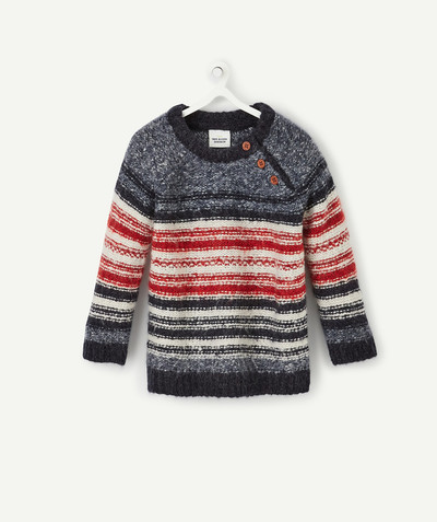 All collection radius - VERY WARM STRIPED JUMPER