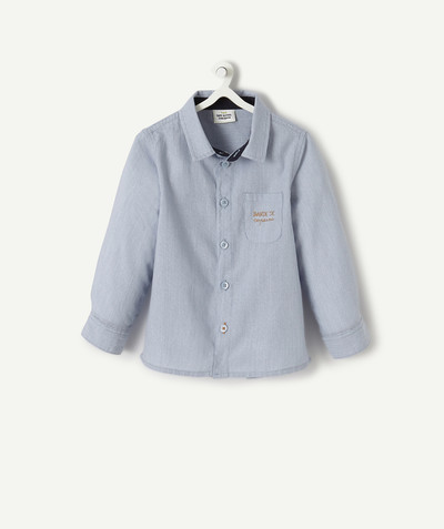 All collection radius - BLUE COTTON SHIRT