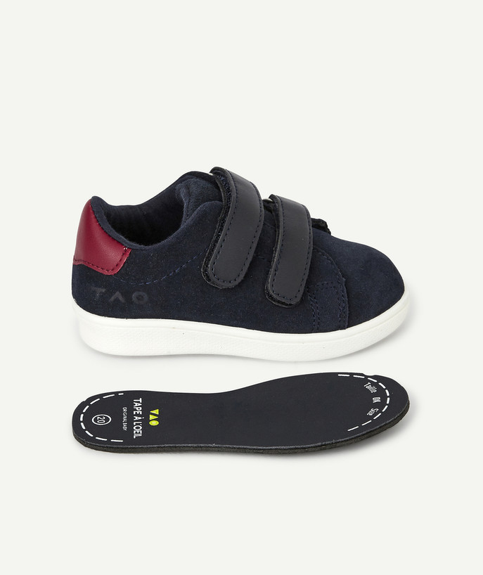 Shoes, booties radius - NAVY BLUE TENNIS SHOES WITH BANDS FOR BABY