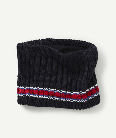 Accessories radius - KNITTED SNOOD WITH BANDS