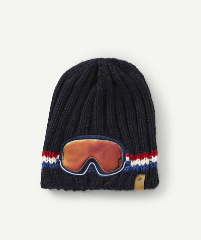 Accessories radius - KNITTED HAT WITH SPECTACLES DESIGN